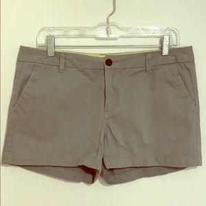 Gray Chino Shorts